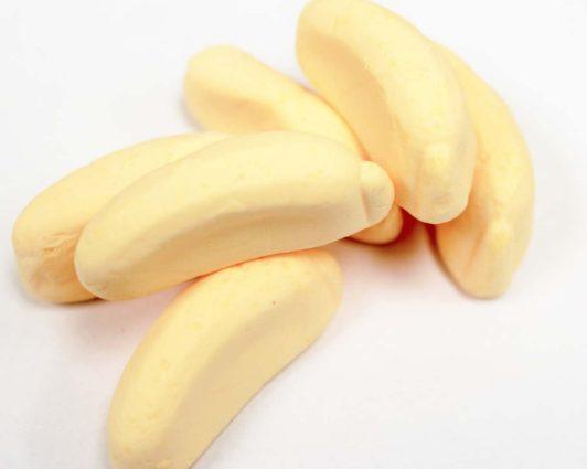 Marshmallow Bananas